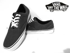 sepatu vans authentic dark grey casual premium