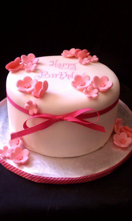 Cake Hope And Love Pink Birthday Cake