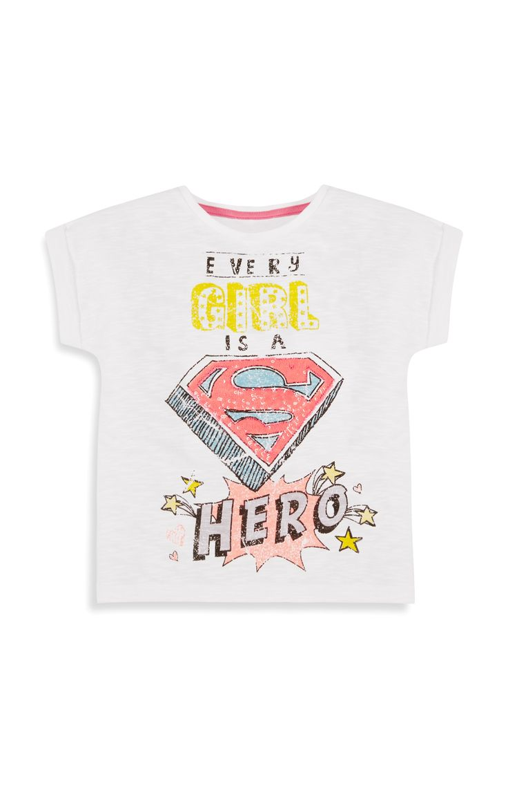 Primark - Superhero Girl T-Shirt