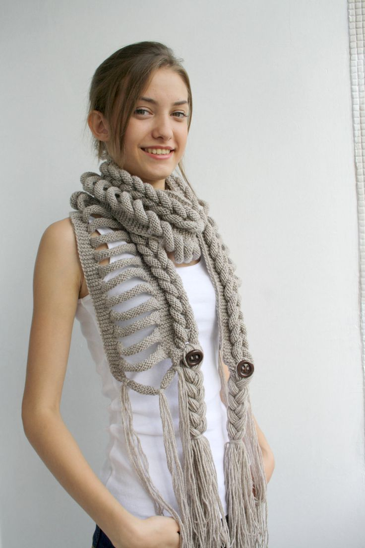 Free SHIPPING Milky Brown Wool  Scarf perfect Gift  For Women For Girl Friend Valentines Day Gift Under75. $75,00, via Etsy.