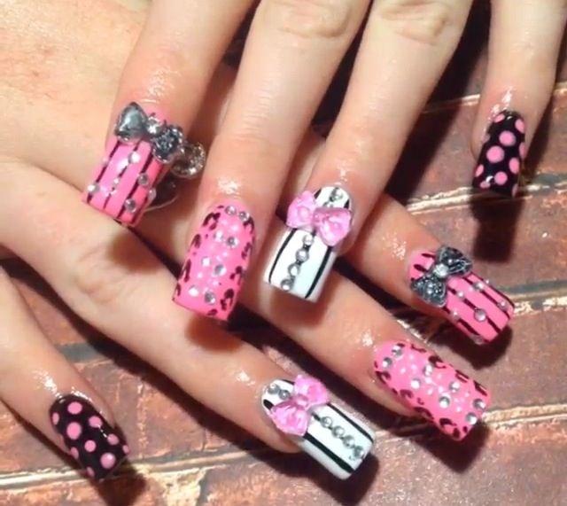 Crazy acrylic nail designs ledufa excellent crazy acrylic nail designs 20 as inspiration article prinsesfo Images