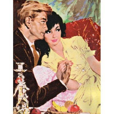 """Lifestyle Illustration of the 50's.""""...a sunnier, more aspirational culture was taking shape...""""."""
