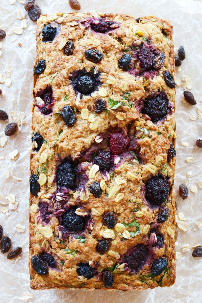 Vegan Fruit and Veggie Everything Breakfast Loaf - The Colorful Kitchen