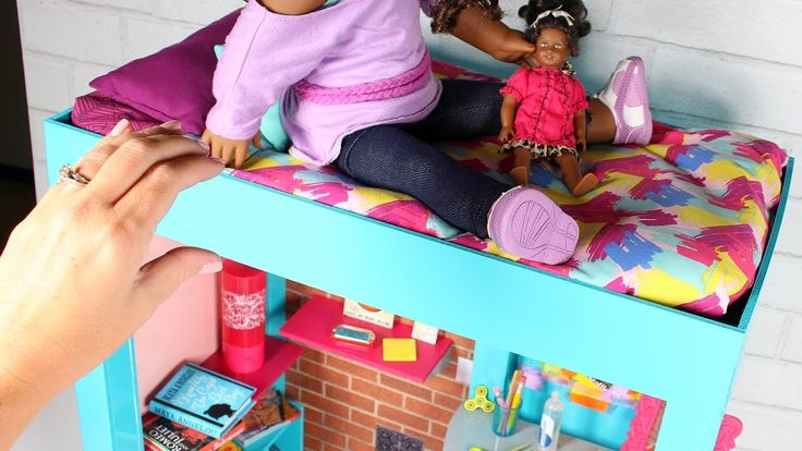 DIY American Girl Bed. This American Girl Bed is the perfect size for your American Girl Dolls. This DIY is fun and easy to make. Now you have your own Ameri...