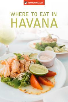 Where to eat in Havana, Cuba.