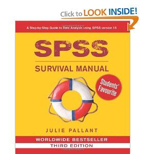 Though I already knew some stats, this book was and continues to be my lifeline for the stuff I just can't seem to remember: SPSS Survival Manual: A Step by Step Guide to Data Analysis Using SPSS for Windows (Version 15), 3rd Edition: Julie Pallant