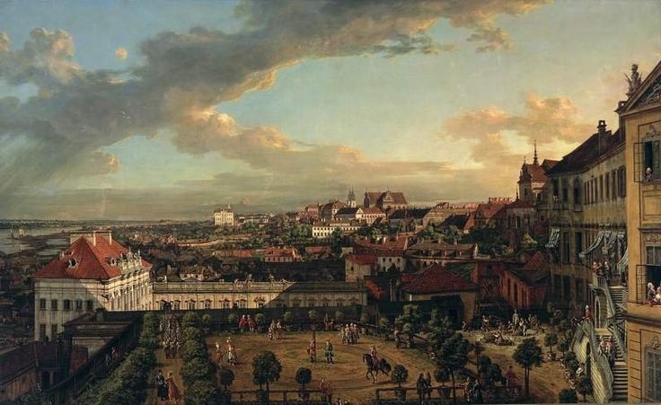 Bellotto View of Warsaw from the Royal Castle
