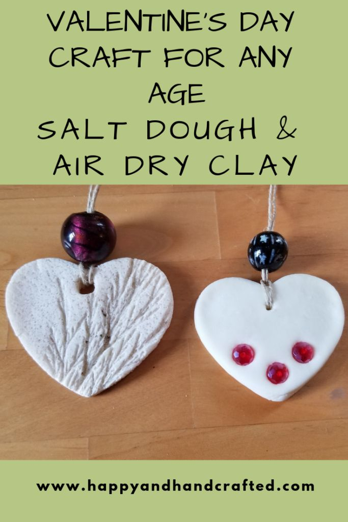 Salt Dough and Air Dry Clay – Happy and Handcrafte…
