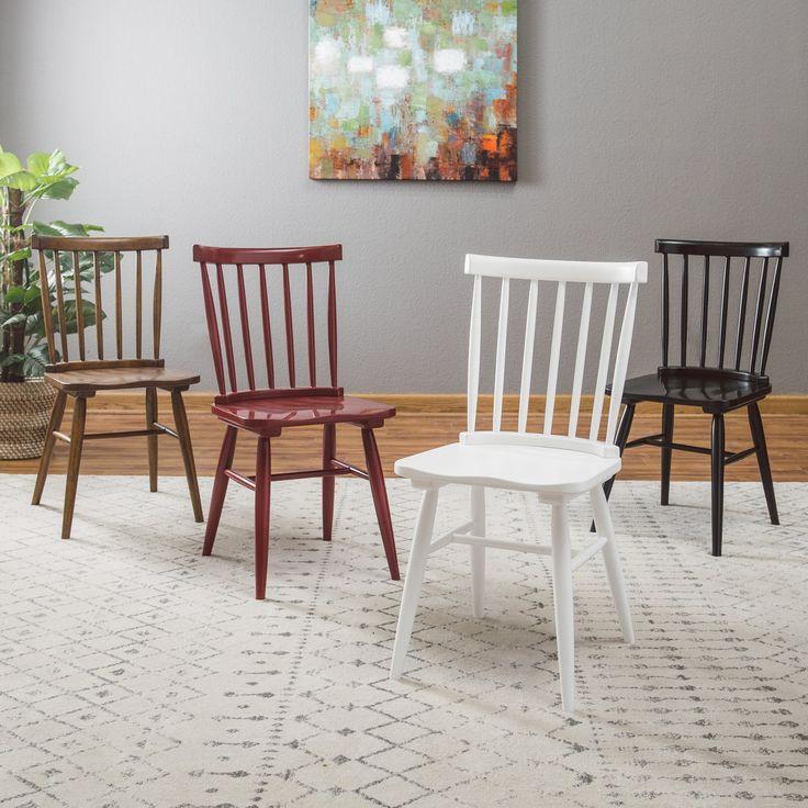 Belham Living Windsor Dining Chair - Set of 2 - CS-91245 -BLACK