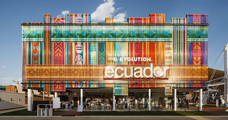 KriskaDecor: Catene decorative per Expo 2015 pad. Ecuador