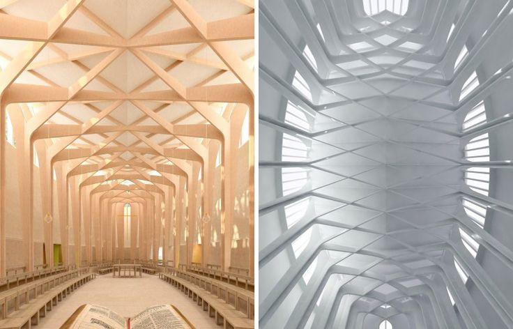 Dat is nog eens een kapel #vuletteren #architectuur #design Bishop Edward King Chapel by Niall McLaughlin