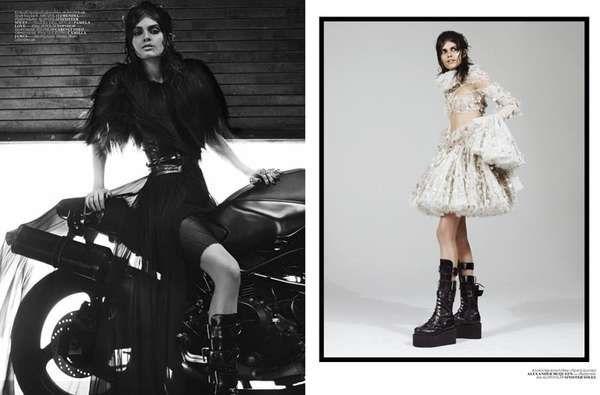 Vogue Turkey 'Siyah Kugu'