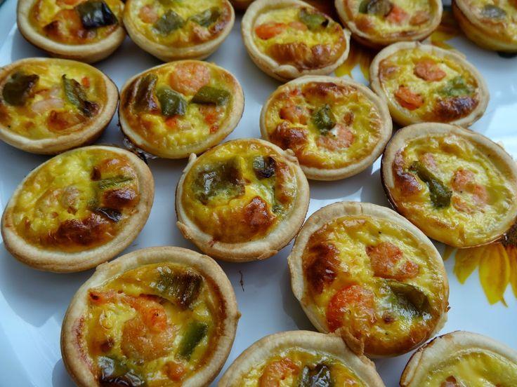 Ça Déménage En Cuisine !: Mini tartelettes aux crevettes et curry