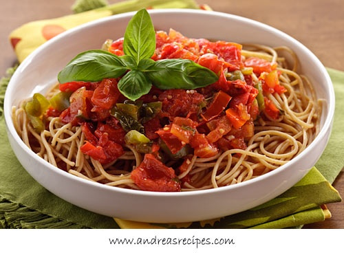 San Marzano Tomato Sauce with Peppers