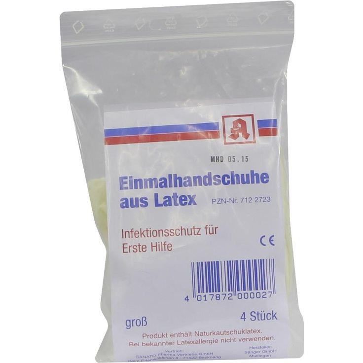 AIDS Schutzhandschuhe Latex:   Packungsinhalt: 4 St Handschuhe PZN: 07122723 Hersteller: Mepha GmbH Preis: 1,03 EUR inkl. 19 % MwSt.…