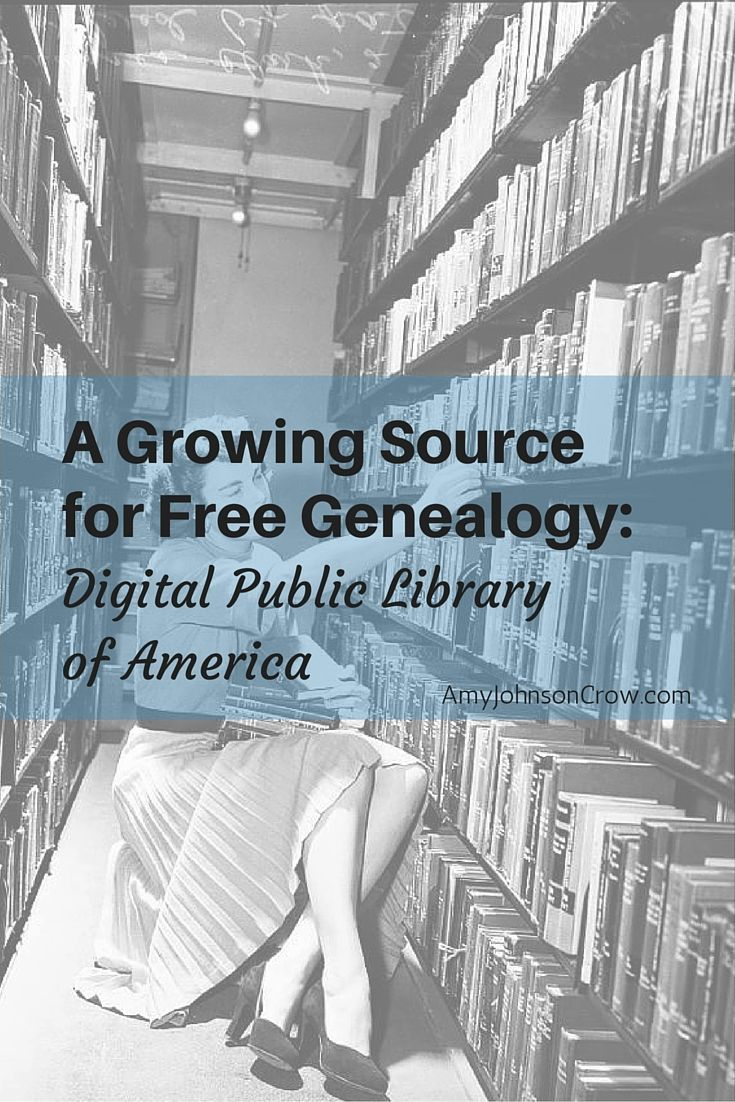 A Growing Source for Free Genealogy > Digital Public Library of America / AJC