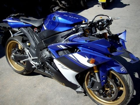 Damaged motorcycle can also make money for you.