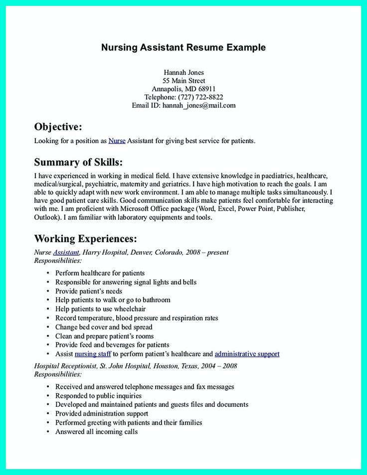 how a good resume can