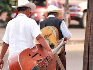 uomini messicani