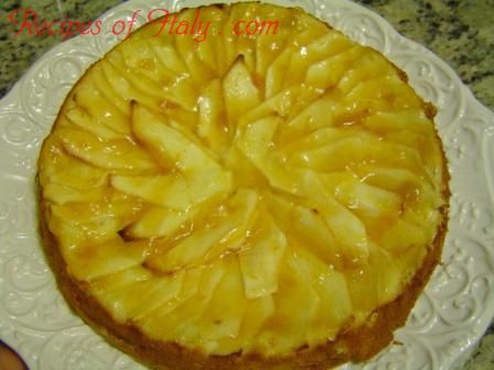 Traditional Italian Apple Cake (Torta di Mele) | Enjoy this authentic Italian recipe from our kitchen to yours. Buon Appetito!