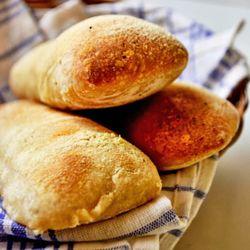 Pão ciabatta - fermentação natural