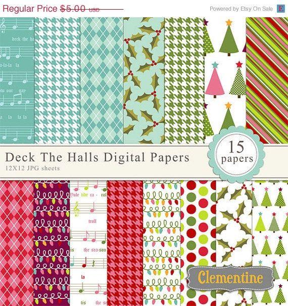 131 besten christmas digital scrapbook paper bilder auf for Digitale weihnachtskarten gratis
