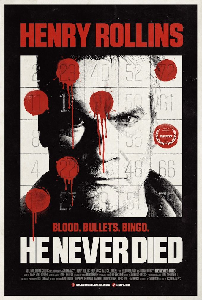 He Never Died Movie Poster by derrickthebarbaric on DeviantArt