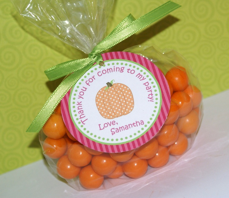 Polka Dot Pumpkin Birthday Party Invitation, Photo 1st Birthday Invitation by Kidfully Celebrations. $12.00, via Etsy.
