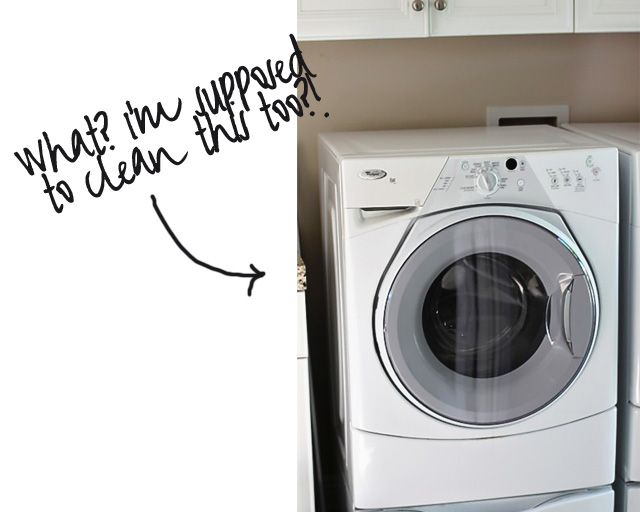 How To Clean Your Washing Machine Green Cleaning