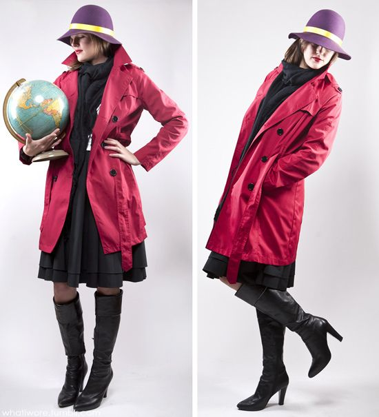 Homemade Halloween: Carmen Sandiego on What I Wore by What I Wore, via Flickr