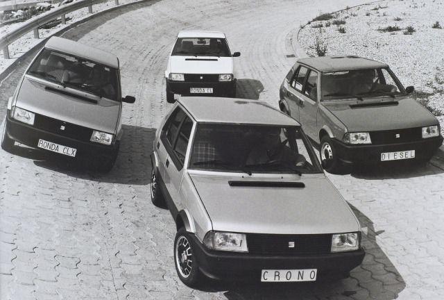 1983 Seat Ronda - Gama de modelos.