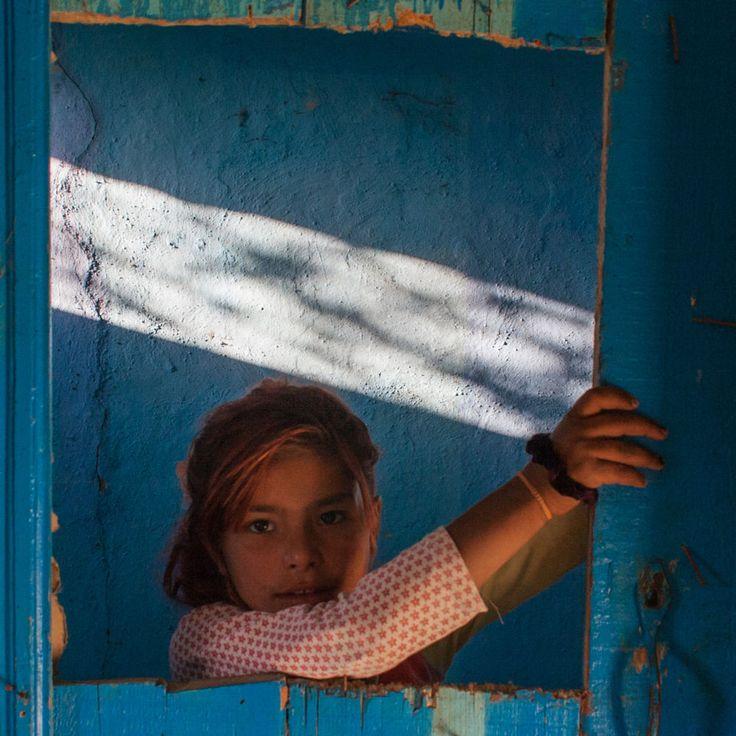 Girl blue frame 01 by Sebastian Sosin on 500px