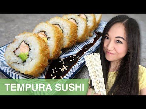 REZEPT: Tempura Sushi selber machen | japanisch kochen - YouTube