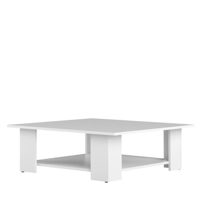 Table Basse Lime Blanc 89x89 Cm Table Basse Relevable Table Basse Rangement Et Table Basse