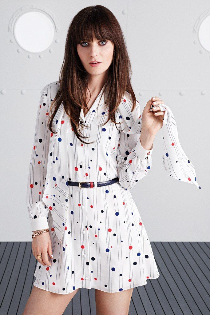 Zooey Deschanel Collaborates with Tommy Hilfiger on To Tommy