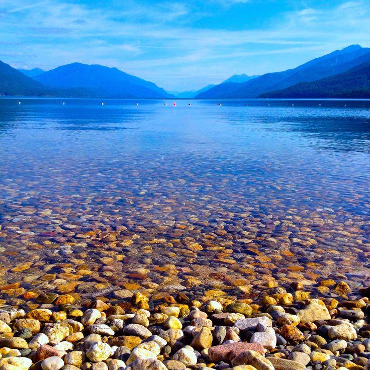 The amazing clear, clean waters of Kootenay Lake! #Kootenays
