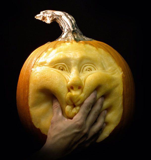 Ray Villafane Halloween Pumpkin Carvings