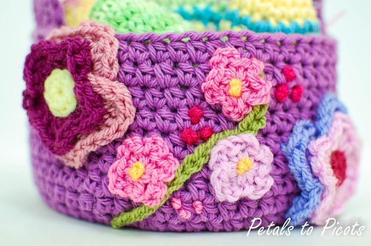 Spring Basket Pattern ... Great for Easter!