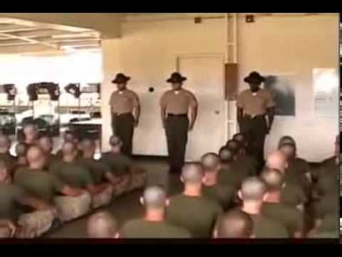 Welcome To Hell: An Introduction To Marine Corps Boot Camp - YouTube
