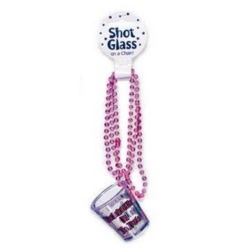 Beaded Shot Glass