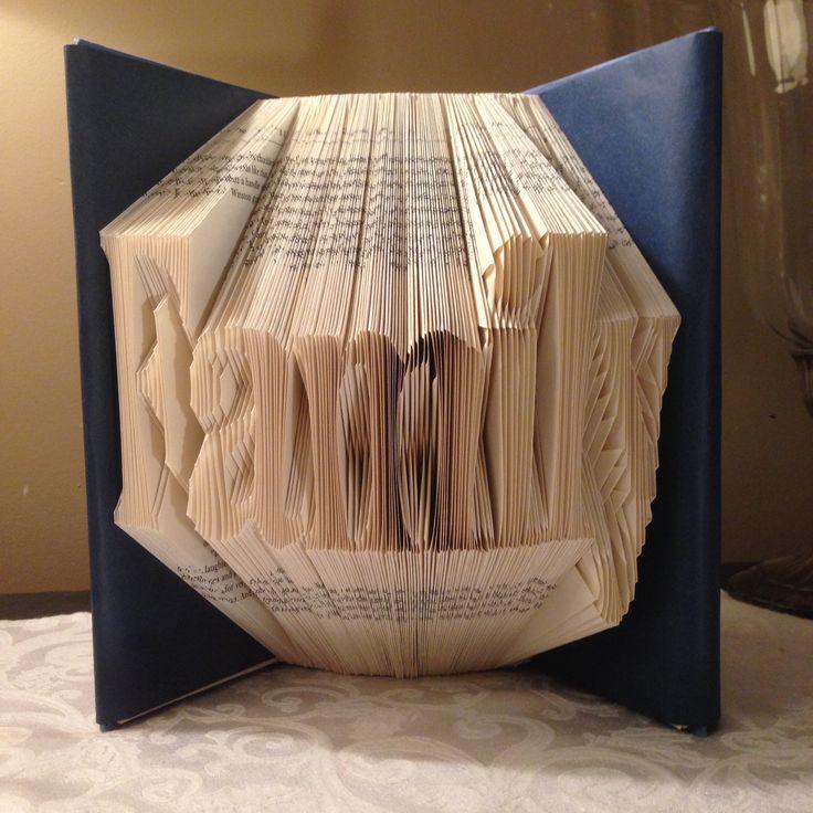 Family folded book art