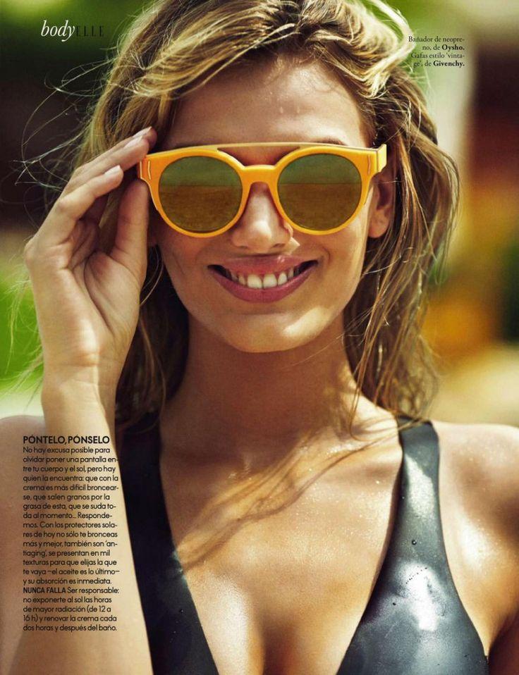 Бриджи Хейнен (Bregje Heinen) в Elle Spain