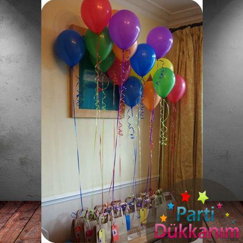 Karışık Renkli Uçan Balon 15 Adet MAĞAZADAN fiyatı