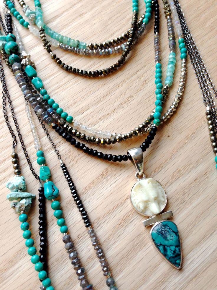 ∆∆∇∇ elementality | unique jewelry + clothing + art | necklaces