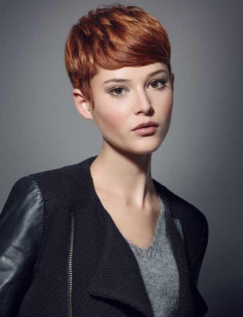 Super Short Hair Ideas on Pretty Ladies - Love this Hair