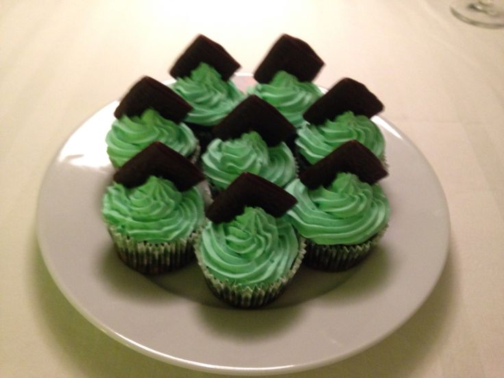 After Eight cup cakes