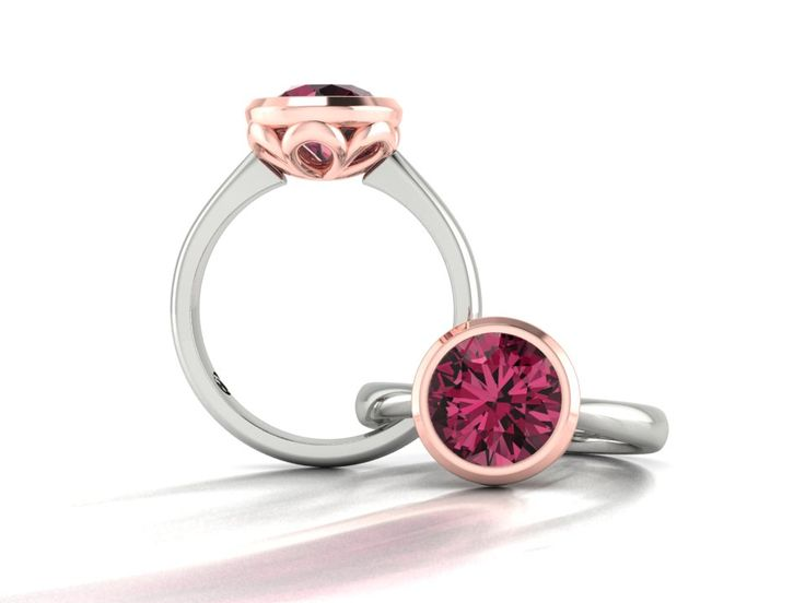 Leilani | Rhodolite Garnet Dress Ring | B Jewellery