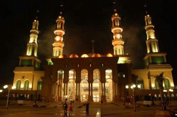 islamic dimalam hari