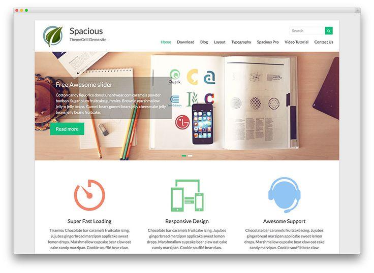 17 best Templates Gratuitos Flat Design e Responsive para WordPress ...