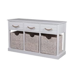 Nuvo Cabinet with 3 Drawers & 3 Weaved Baskets. Get marvelous discounts up to 60% Off at Deals Direct using Coupons & Promo Codes.